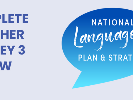 National Languages Plan and Strategy - Teacher Survey 3