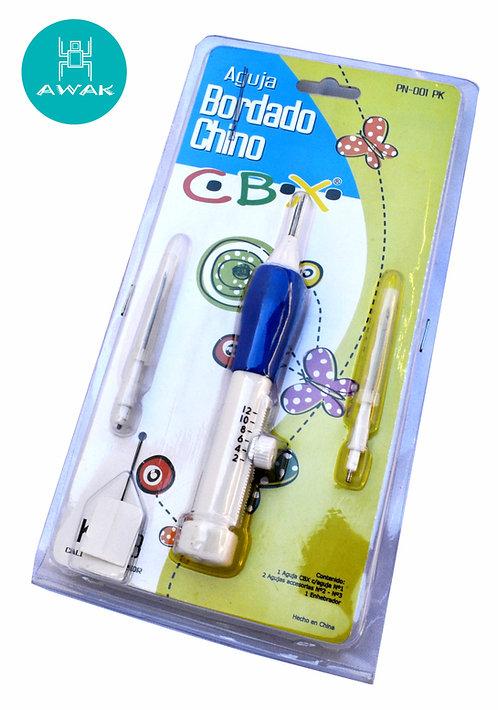 AGUJA BORDADO CHINO  Set x 3 agujas