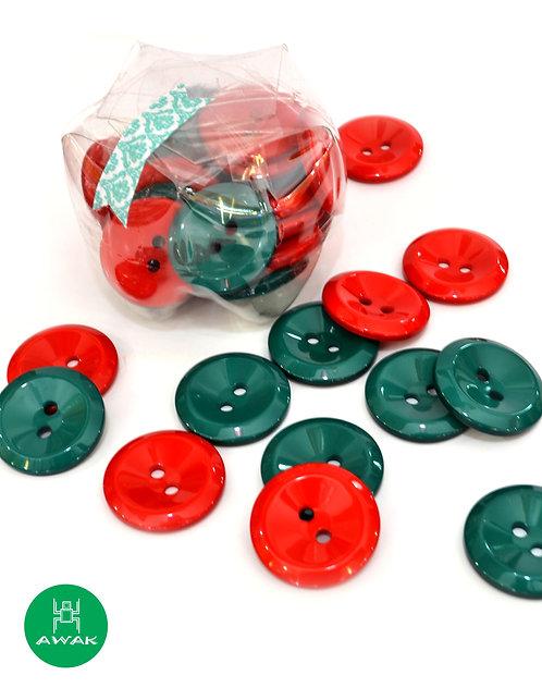 Botones  de 40 mm edición Navidad!