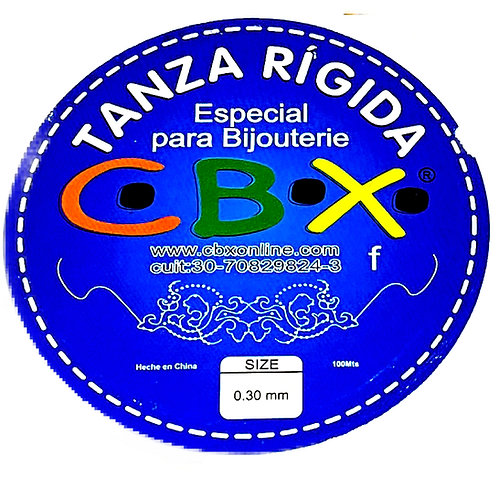 TANZA RIGIDA 0.3 MM x 100 Mtrs.