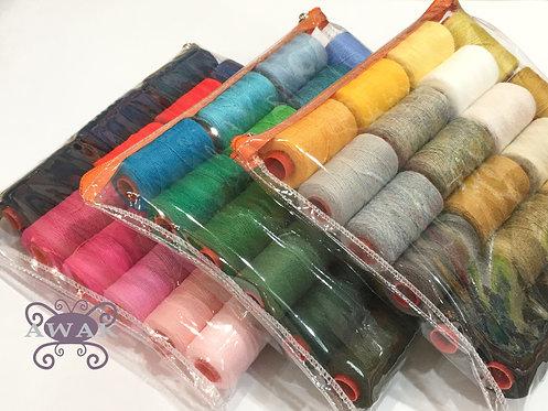 SET 18 colores de hilos para bordado chino