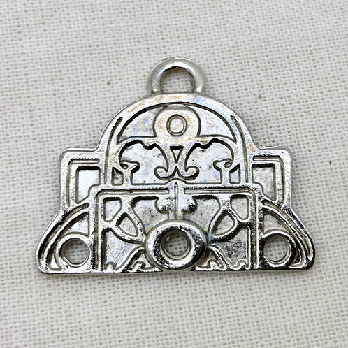 Pieza de metal para bordado ó biju