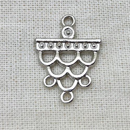 Pieza de metal para bordar ó biju