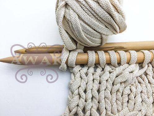 Cordón de algodón súper grueso