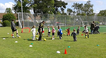 Football Training for 5 & 6 yrs old