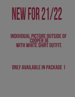 Individual White Shirt (only available in package 1)