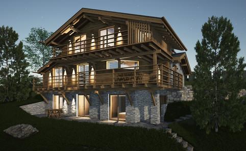 Rénovation d'un chalet de luxe à Verbier