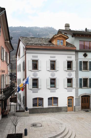 Transformation d'un immeuble administratif