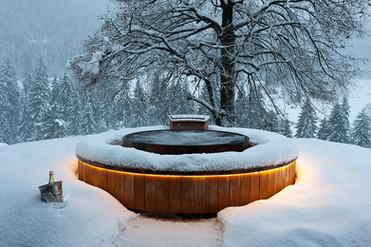 Aménagement d'un spa