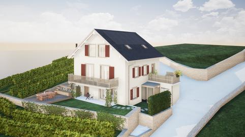 Rénovation d'une maison vigneronne