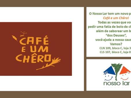 Novo parceiro Nosso Lar - Café e um Chêro