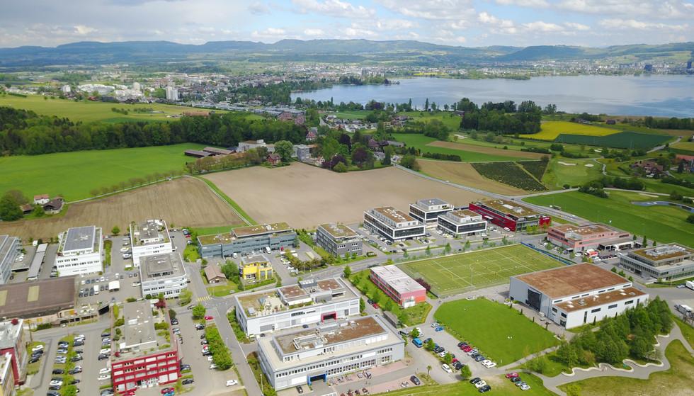 Arbeitsgebiet Bösch/Hünenberg  /  Work area Bösch / Hünenberg