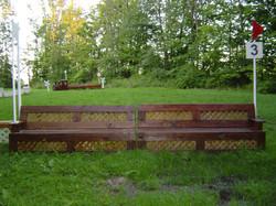 lattice bench