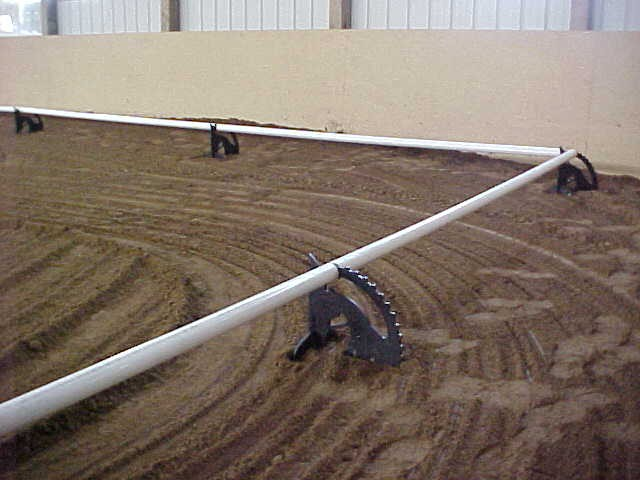 ring setup indoor arena