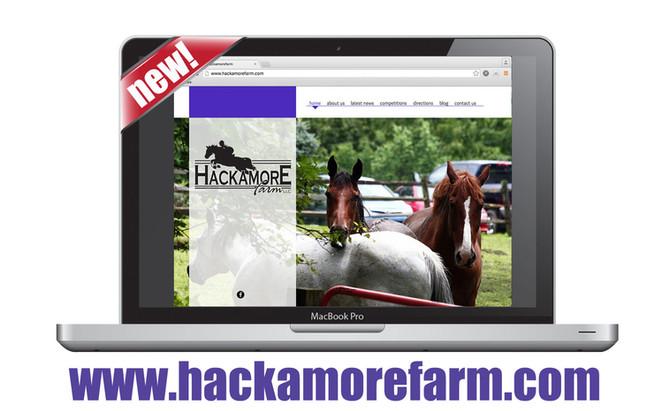 Hackamore Farm website goes live!