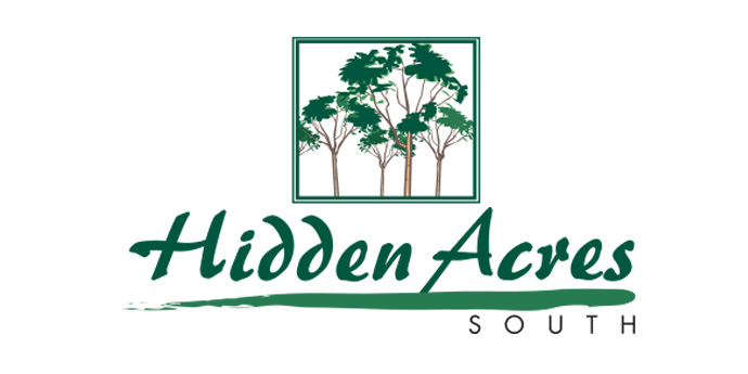 Hidden Acres logo