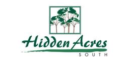 Hidden Acres logo