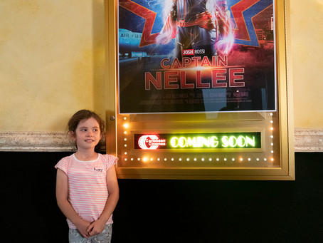5 year old gets surprised after Captain Marvel opening night!