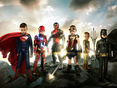 Photographer does photoshoot of the REAL Justice League