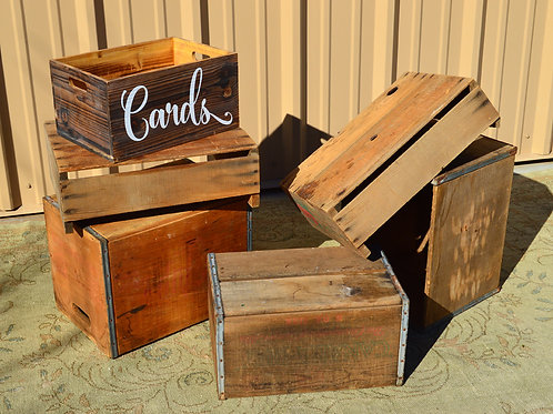 Antique Crates