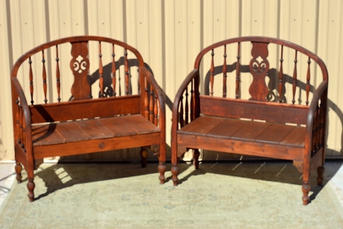Antique Benches, Settee