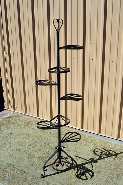 Antique Heart Plant Stand
