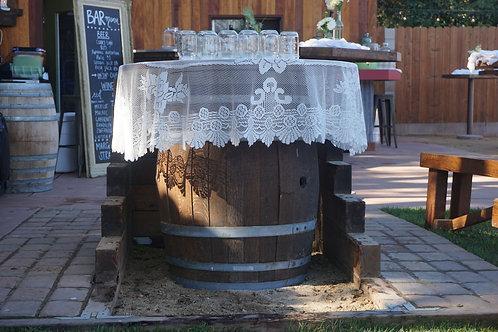 Wine Barrels & Wine Barrel Trash Cans