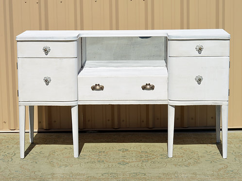 White Antique Buffet