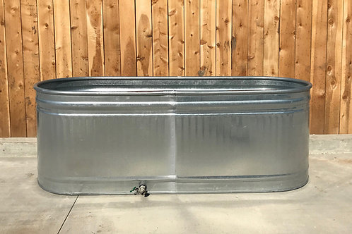 Large Galvanized Trough