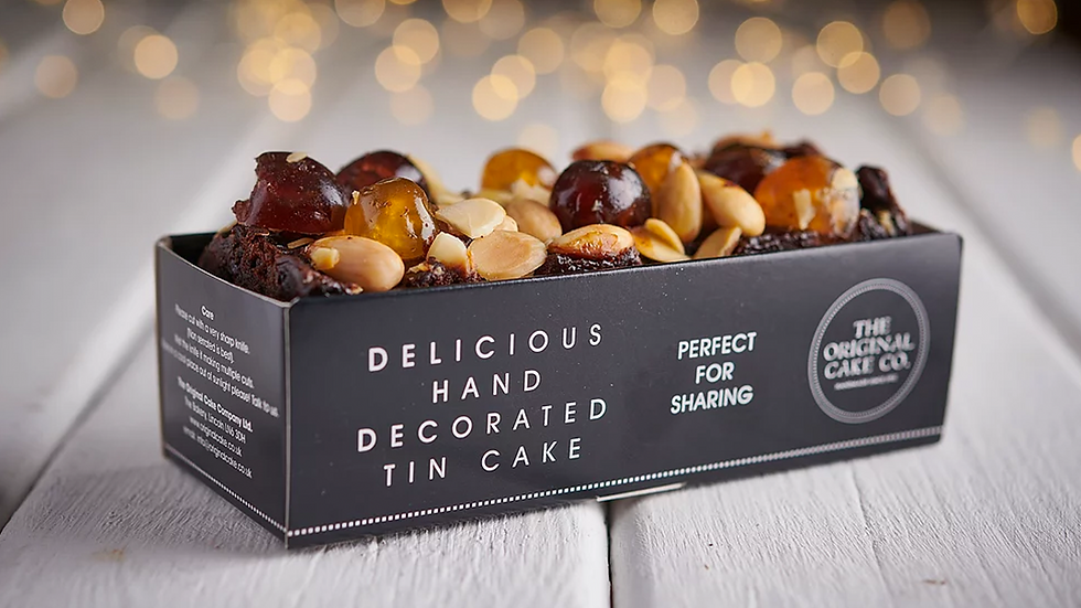 Christmas Brandy, Fruit and Nut Cake x8