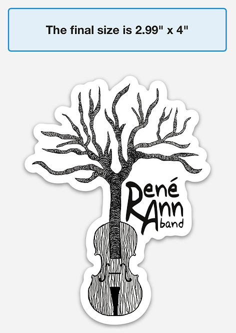 Rene Ann Band Sticker