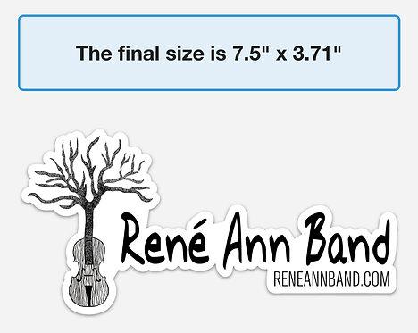 Rene Ann Band Sticker