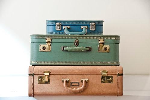 Found Suitcases