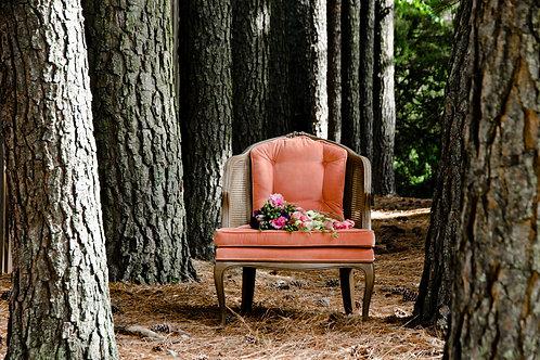 Margaret| Upholstered Vintage Chair