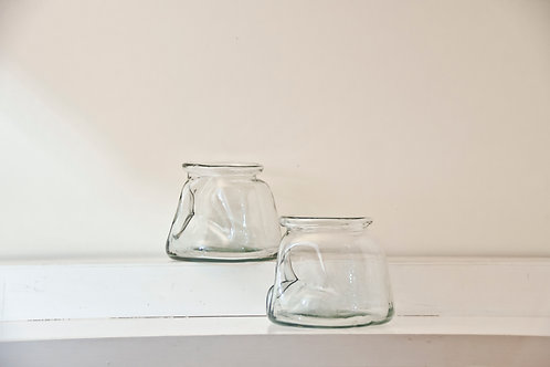 Round Glass Container