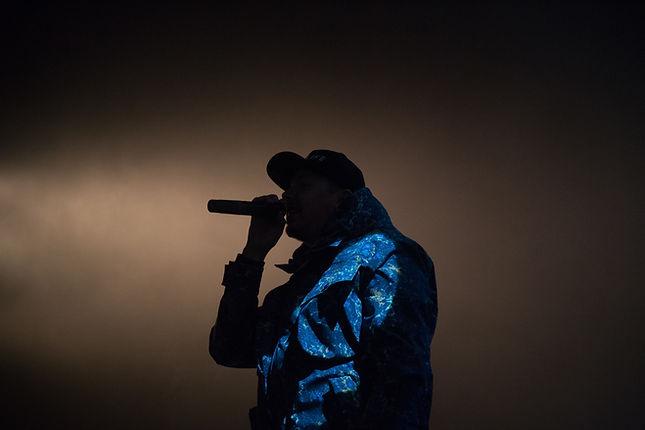 Dj sur scène pour Hip-Hop