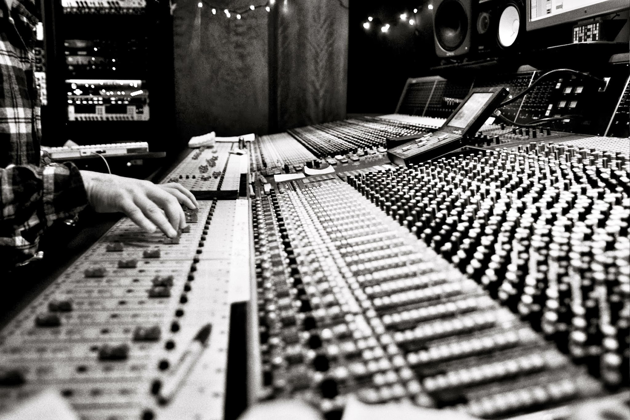 Mixing Desk Capitol Records