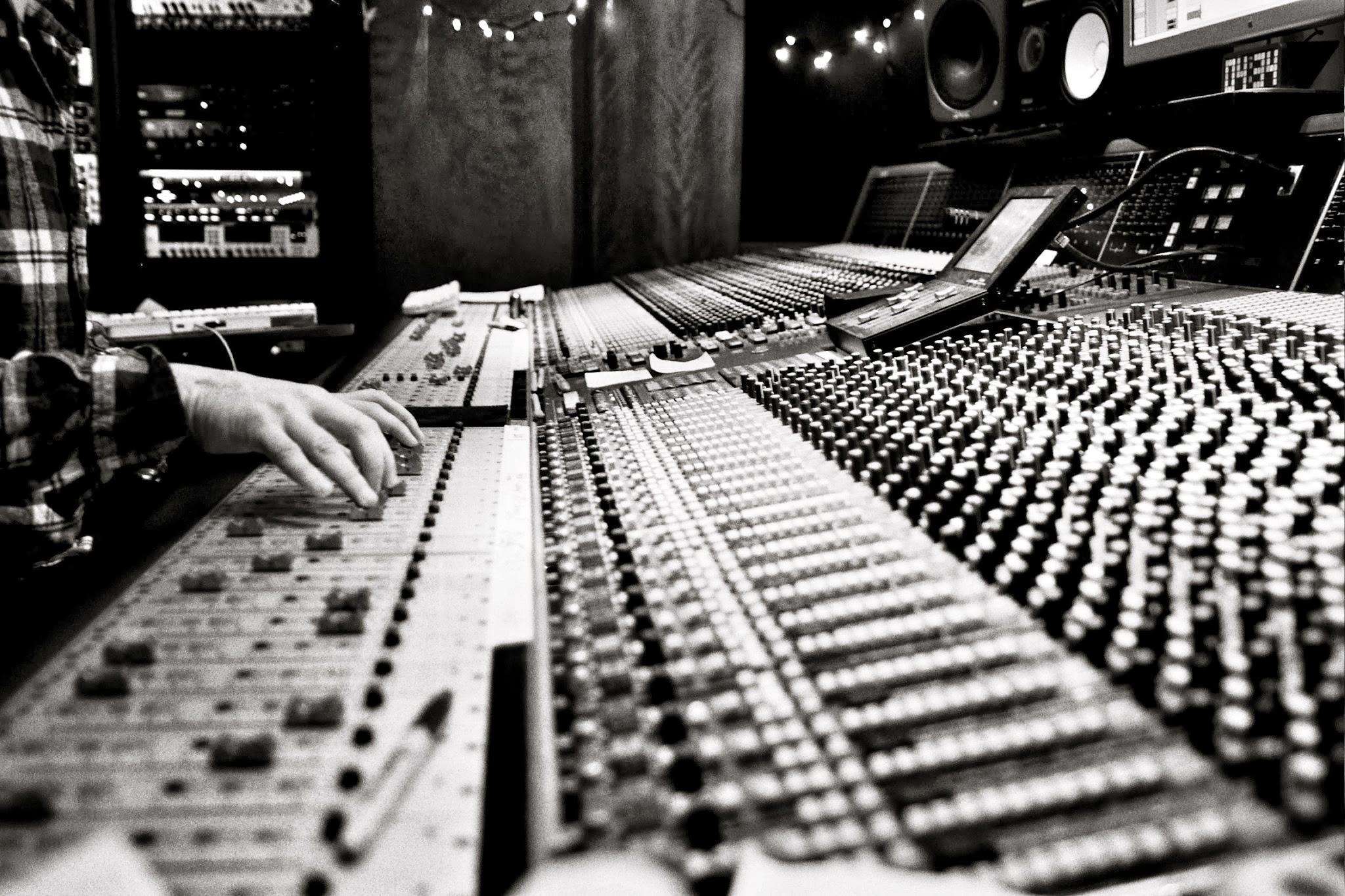 Mixing Desk Capitol Records