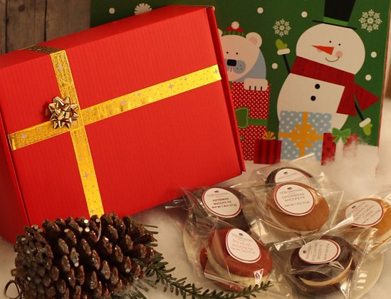 Seasonal Gift Box - 6 assorted whoopies!
