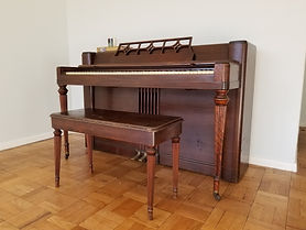 Wurlitzer spinet registration 317578