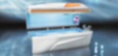 Sonnenbank Solarium megaSun 4800 5600 Optima deluxe Tower Optima 6700 alpha business Ultra Power CPI 6800 Kir Royal 6800 alpha hurricane 6900 alpha deluxe intelliSun 7900 alpha deluxe intelliSun Space 2000 Space 3000 pureCollagen pureEnergy T200 pureEnergy T230 pureEnergy 5.0 vibraNano Shuttle 360° Collarium mon amie deluxe revolutionD Ergoline  Prestige 1400  Affinity 990  Inspiration 600 Passion 350-S Balance 700 Hybrid Performance Sonnenengel Duo 1400  Beauty Angel  iBed Med Tan  S-Class Luxura X10