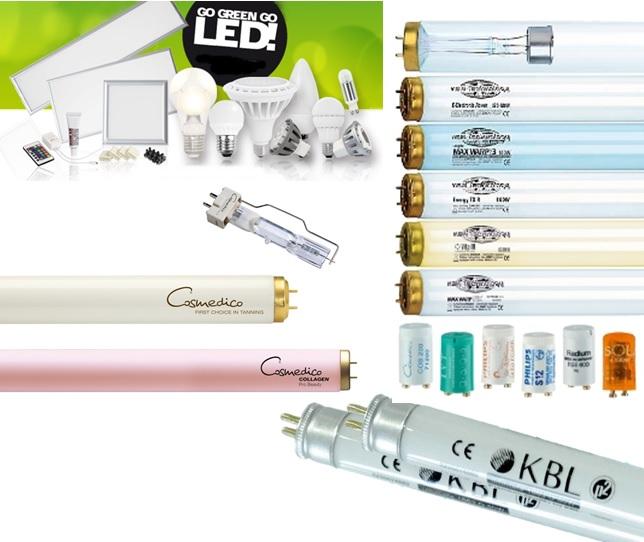 UV Röhren und Leuchtmittel