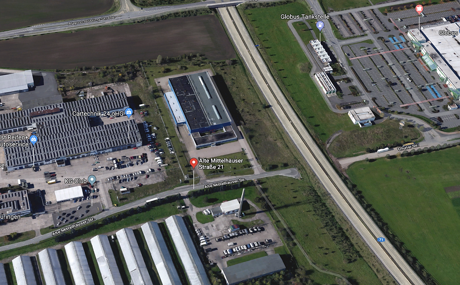 CHEP Depot Erfurt