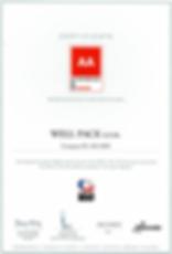 AA Chech Zertifikat PDF JPEG Ausgeschnit