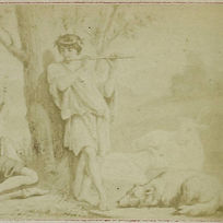 6-drawing-by-f-barrias-virgil-scene-from