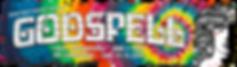 godspell banner tie dye for srm website.