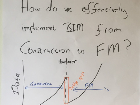How do we effectively implement BIM from construction to FM?
