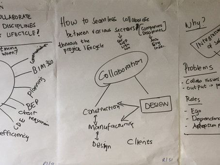 How do we seamlessly collaborate between various sectors, companies/disciplines?