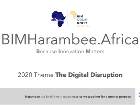 BIMHarambee.Africa - a continent-wide BIM virtual event, for Africa, by Africa