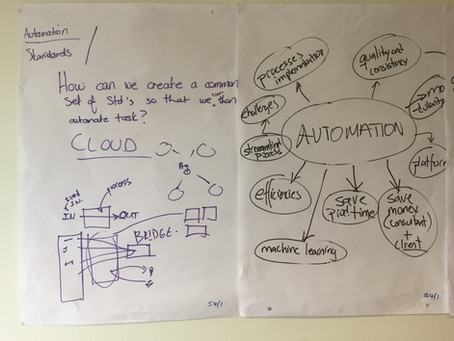 How can we create a common set of standards so we can automate tasks?